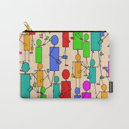 In A Tizzy Carry-All Pouch