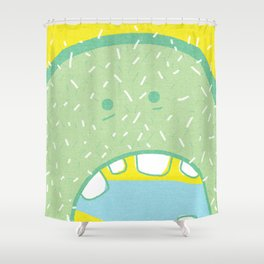 Hungry. Shower Curtain