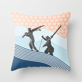 Finding the Perfect Line Throw Pillow