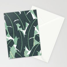 Banana Leaf Pattern #society6 #decor #buyart Stationery Cards