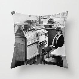 Austin, Texas, 1963 Throw Pillow