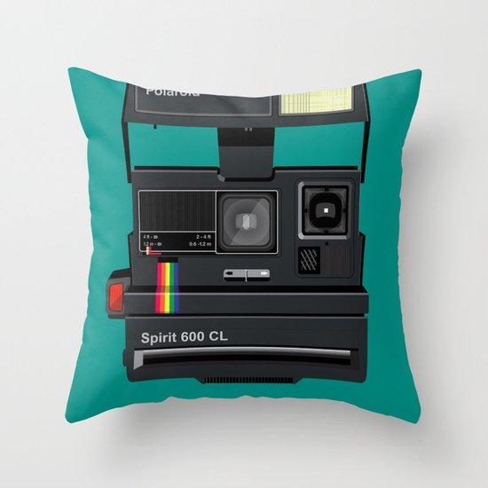 Polaroid II Throw Pillow