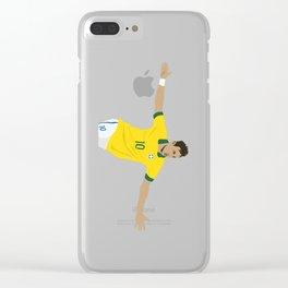 Neymar Clear iPhone Case
