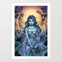 The Bride Corpse Art Print