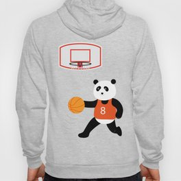 Play basketball with a panda Hoody