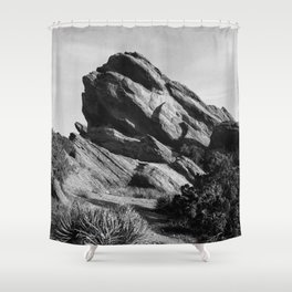 Vasquez Rocks Shower Curtain