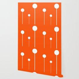 Three Balls Hanging Wallpaper