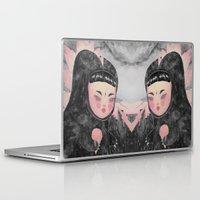 loll3 Laptop & iPad Skins featuring CuteZilla by lOll3