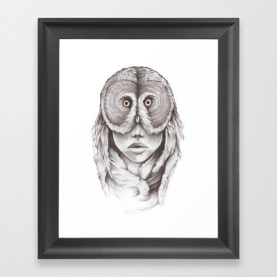 Owlhead Framed Art Print