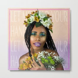 Let me hold your hand Metal Print