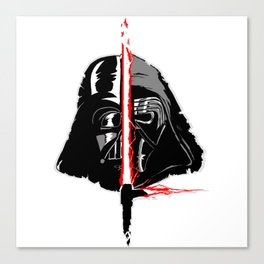 Vader/Ren Canvas Print