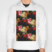 baroque Hoodies featuring baroque flora by arielle morris