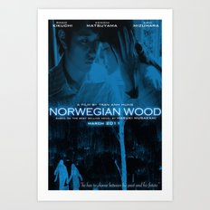norwegian wood Art Print