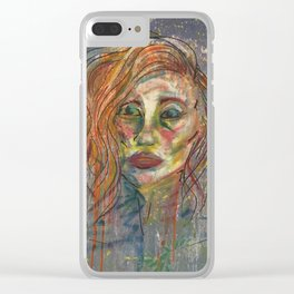 Woman No. 1 Clear iPhone Case