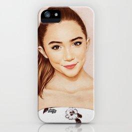 Rowan Blanchard x Glamour iPhone Case