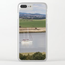 Motoring up River Clear iPhone Case