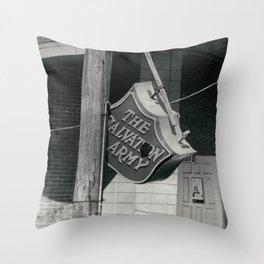 Fallen Salvation Throw Pillow