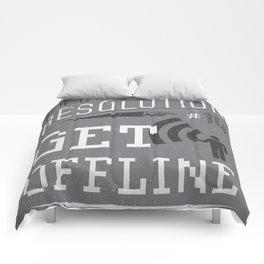 New Year's Resolution #10: Get offline Comforters