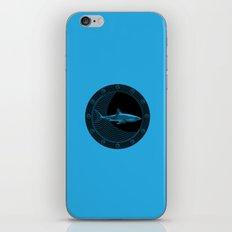 Engraved Shark iPhone & iPod Skin