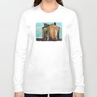 house Long Sleeve T-shirts featuring house by Valentina Cobetto