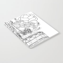 Conservatory of succulent - Black Notebook