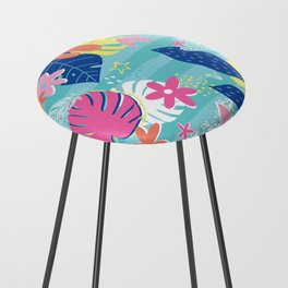 Tropical Vibes Counter Stool