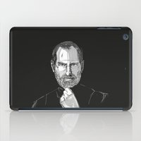 steve jobs iPad Cases featuring Steve Jobs by 1and9
