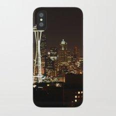 Simply Seattle iPhone X Slim Case