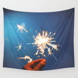 Sparkler (Fourth of July) Wall Tapestry