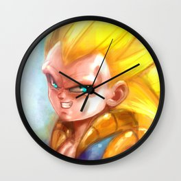 Fused Warrior's New Level Wall Clock