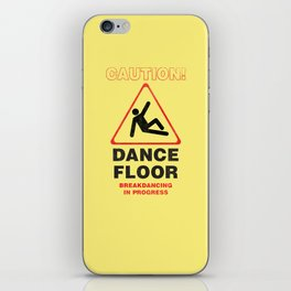 Cuation: breakdancing iPhone Skin
