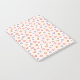 Colourful Floral Pattern Notebook