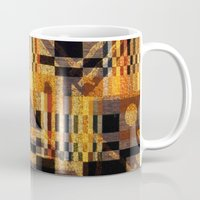 art deco Mugs featuring art deco by clemm