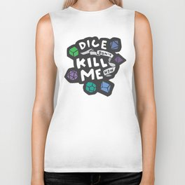 Dice Don't Kill Me Now - Ocean Biker Tank
