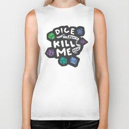 Dice Don't Kill Me Now - Ocean Biker Tank