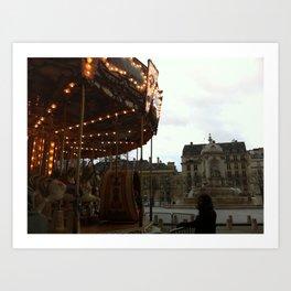 Noel a Paris Art Print