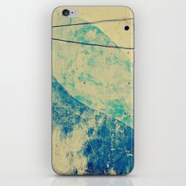 bluewash iPhone Skin