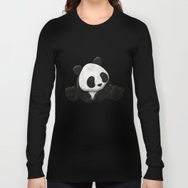 Lace Agate Panda Long Sleeve T-shirt