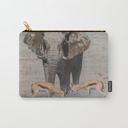 Elephant Safari Carry-All Pouch