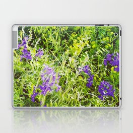 Wild Delphinium Bliss Laptop & iPad Skin
