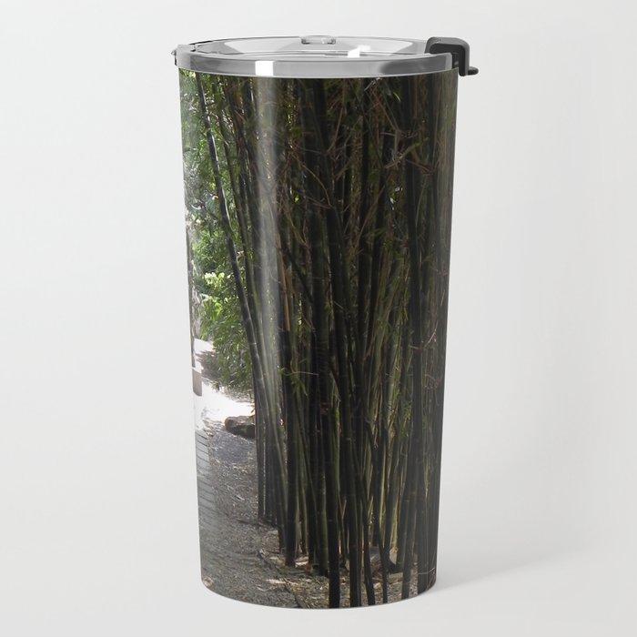 The Bamboo Path Travel Mug