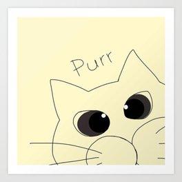 cat 32 Art Print