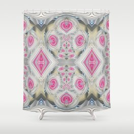 An Abundance of Magical Crystal Candies Shower Curtain