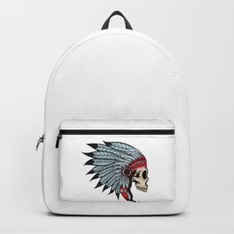 Indian skull Backpack