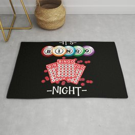 It's Bingo Night Rug