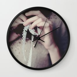 tied up Wall Clock