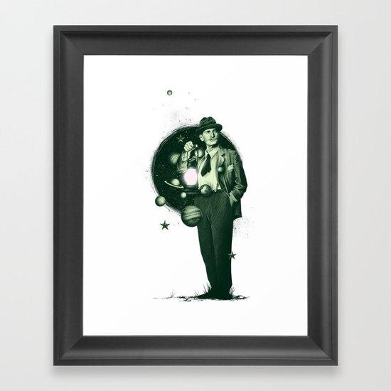 Losing Pluto Framed Art Print