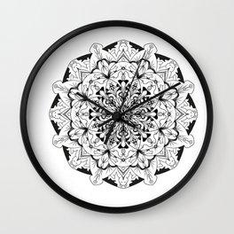 Mandala animals! Wall Clock