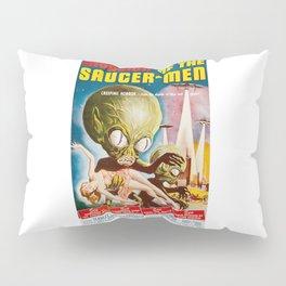 Invasion of the SaucerMen, Horror Movie Vintage Poster Pillow Sham