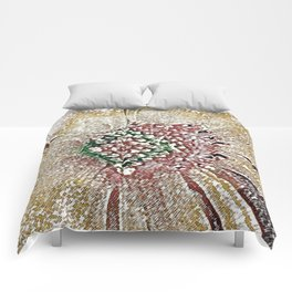 Frosty Floral Comforters